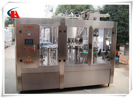 Cina High Precision Automatic Bottle Washing Filling Dan Capping Machine 7.5KW Daya pemasok